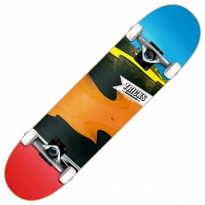 Tricks Skateboards Bowl Complete Skateboad 7.8