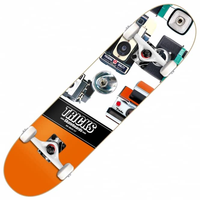 Tricks Skateboards Photographer Complete Skateboard 8.0