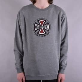 Truck Co. Crewneck Sweater - Dark Heather Grey