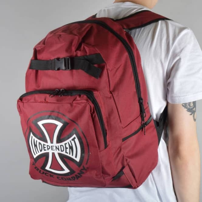 Independent Trucks Truck Co Skate Backpack - Cardinal Red