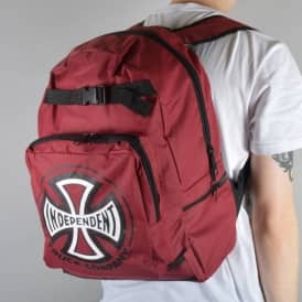 Truck Co Skate Backpack - Cardinal Red