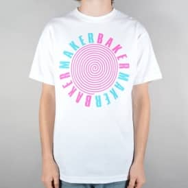 Tunnel Vision Skate T-Shirt - White