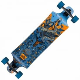 Underwater Shipwrecked Drop Down Longboard 10