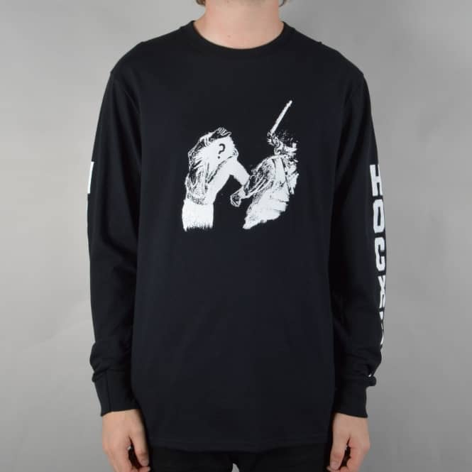 Hockey Skateboards Unidentified Longsleeve T-Shirt - Black