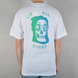 Up All Night T-Shirt - White