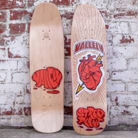 Vallely Heart & Fist Skateboard Deck 8.75''
