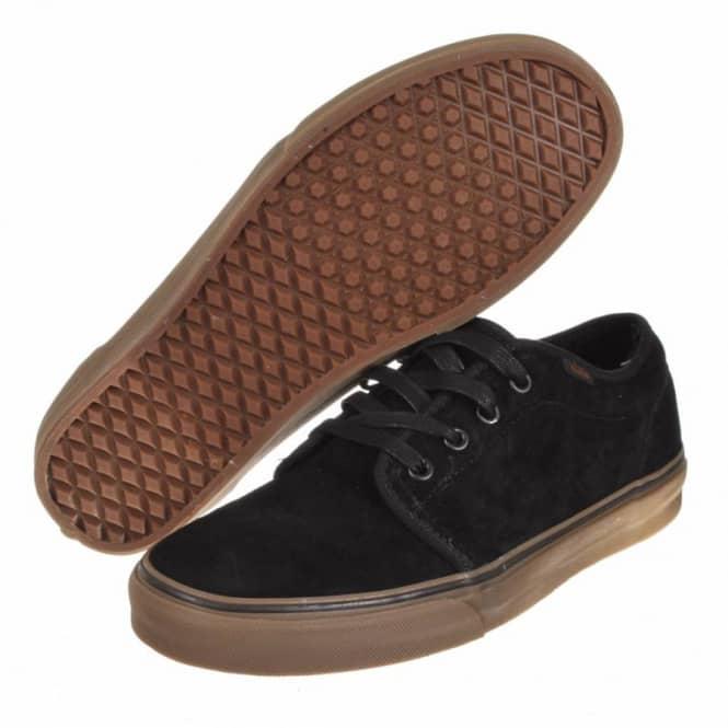 vans shoes black and brown
