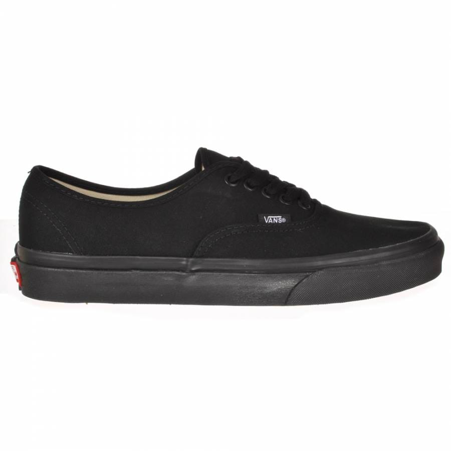 vans vans authentic black black skate shoes vans from