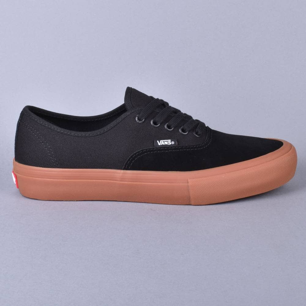 Authentic Pro Skate Shoes - Black/Classic Gum