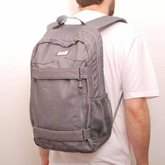 Vans Authentic Skate Backpack Grey Denim - Skate Backpacks   Bags ...