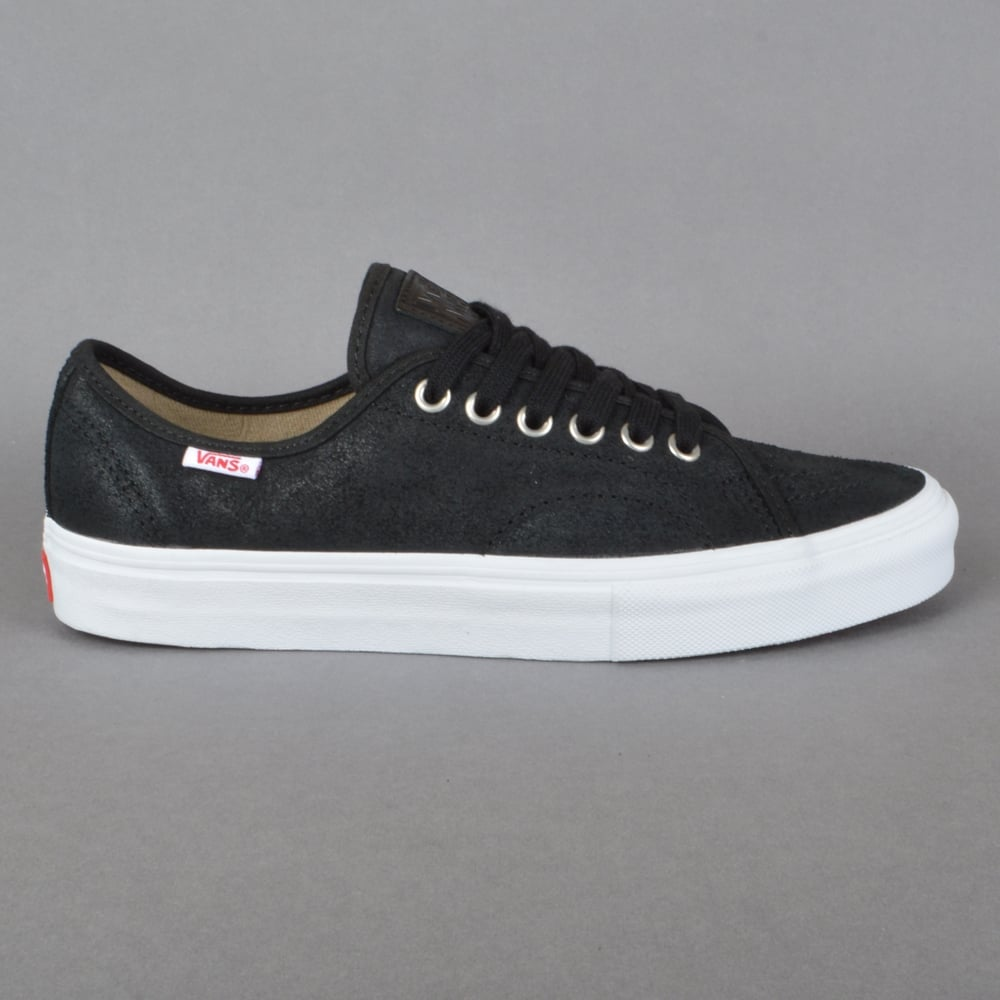 1a0a25d34954 Vans AV Classic (Oiled Suede) Skate Shoes - Black White - SKATE ...