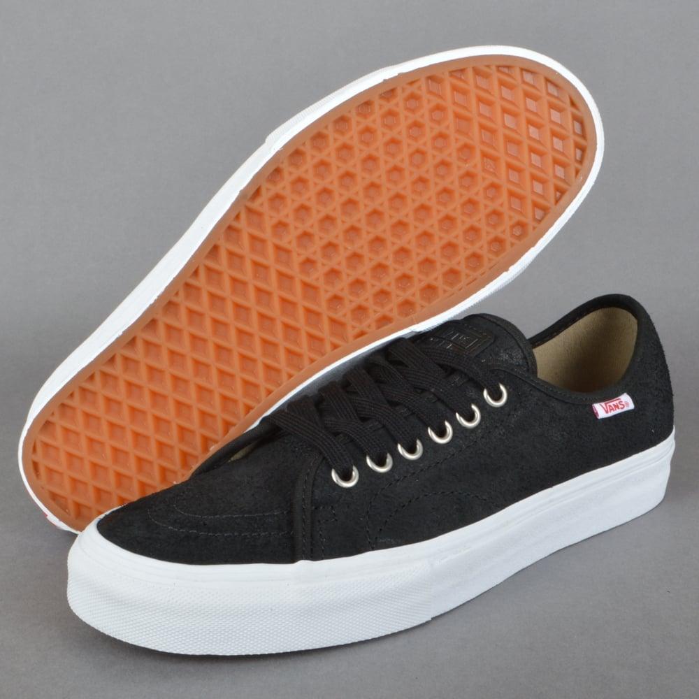e0f09c0cae3 Vans AV Classic (Oiled Suede) Skate Shoes - Black White - SKATE ...