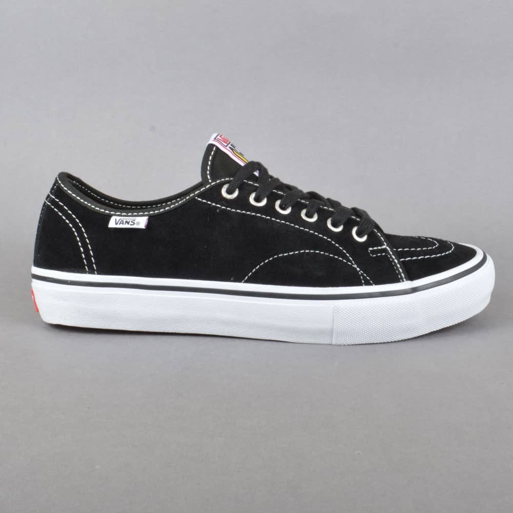 79beb1dcd07c90 Vans AV Classic Pro Skate Shoes - Black White - SKATE SHOES from ...