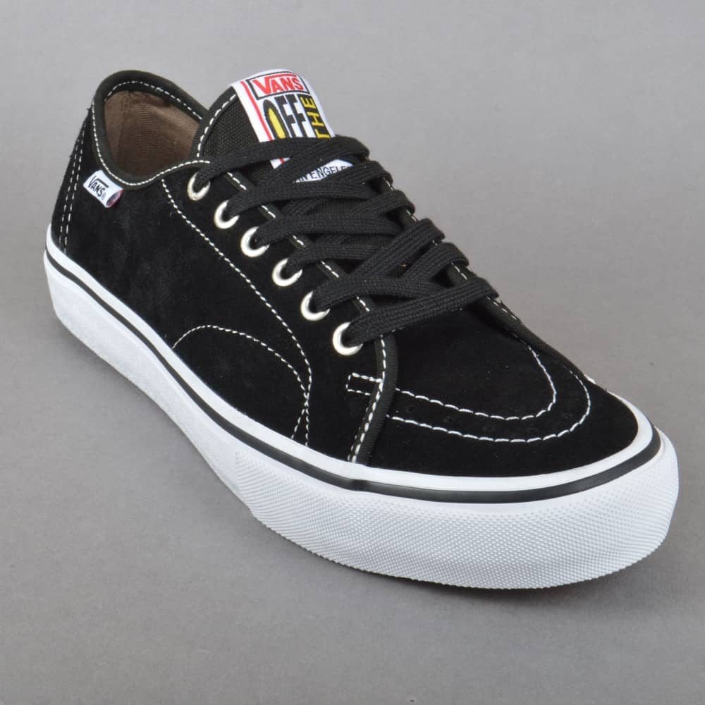 7341004edccb75 Vans AV Classic Pro Skate Shoes - Black White - SKATE SHOES from ...