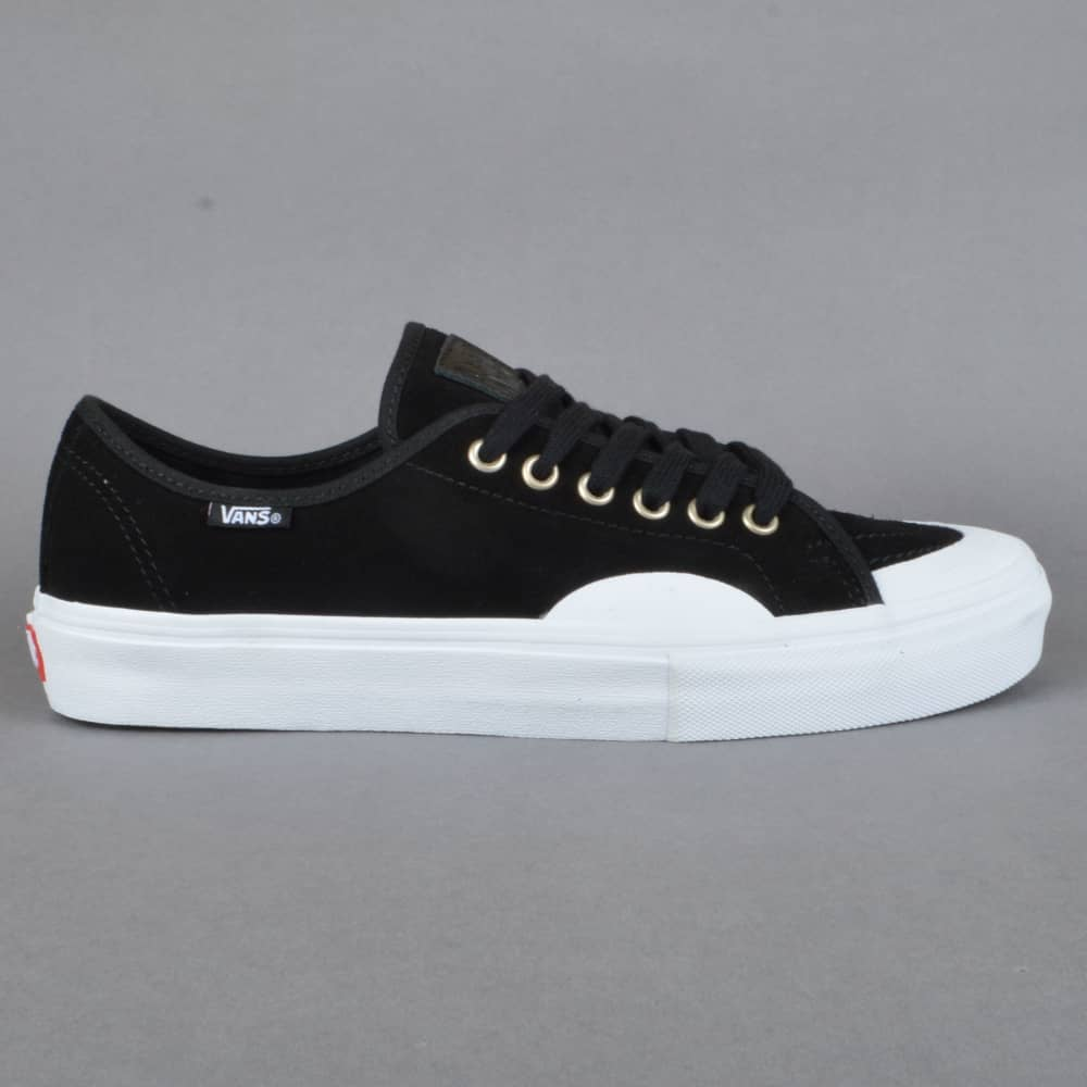 d81b6626124e18 Vans AV Classic (Rubber) Skate Shoes - Black White - SKATE SHOES ...