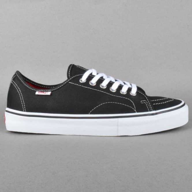 5ff6d32d52 Vans AV Classic Skate Shoes - Black White Mid Grey - Mens Skate ...