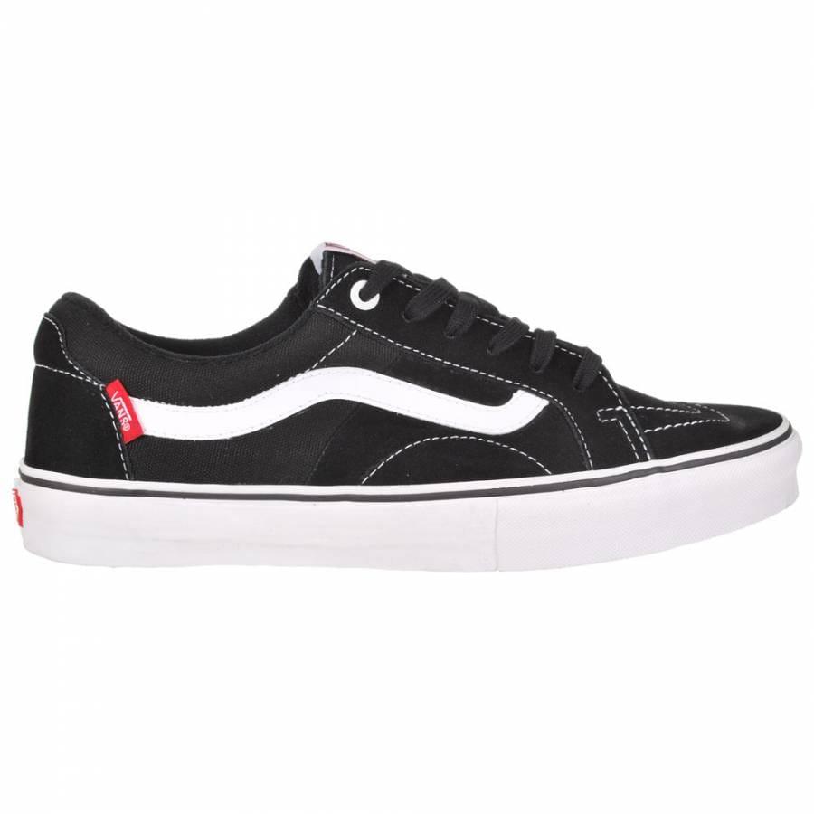 Vans Vans AV Native American Low Skate Shoes - Black/White ...