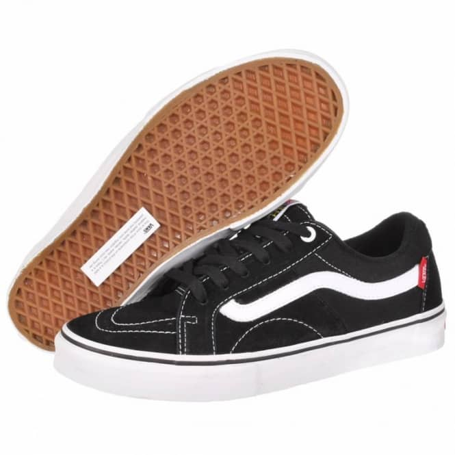 Vans AV Native American Low Skate Shoes - Black White - Mens Skate ... f86fb12de