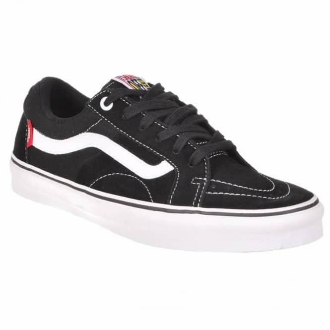 05446c9062518a Vans AV Native American Low Skate Shoes - Black White - Mens Skate ...