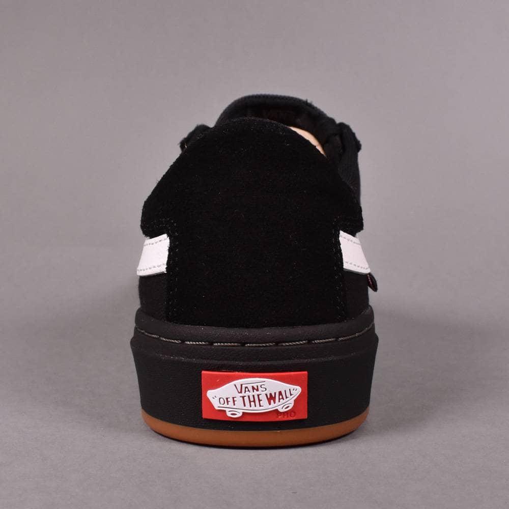 30c466642af Vans Berle Pro Skate Shoes - Black Black White - SKATE SHOES from ...