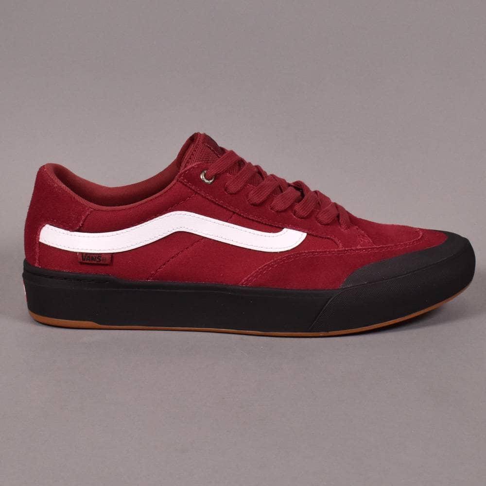 Vans Berle Pro Skate Shoes - Rumba Red