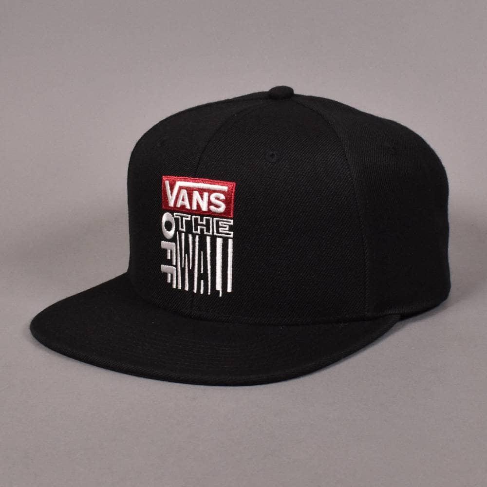 5dd21a91a08 Vans Block Snapback Cap - Black - SKATE CLOTHING from Native Skate ...