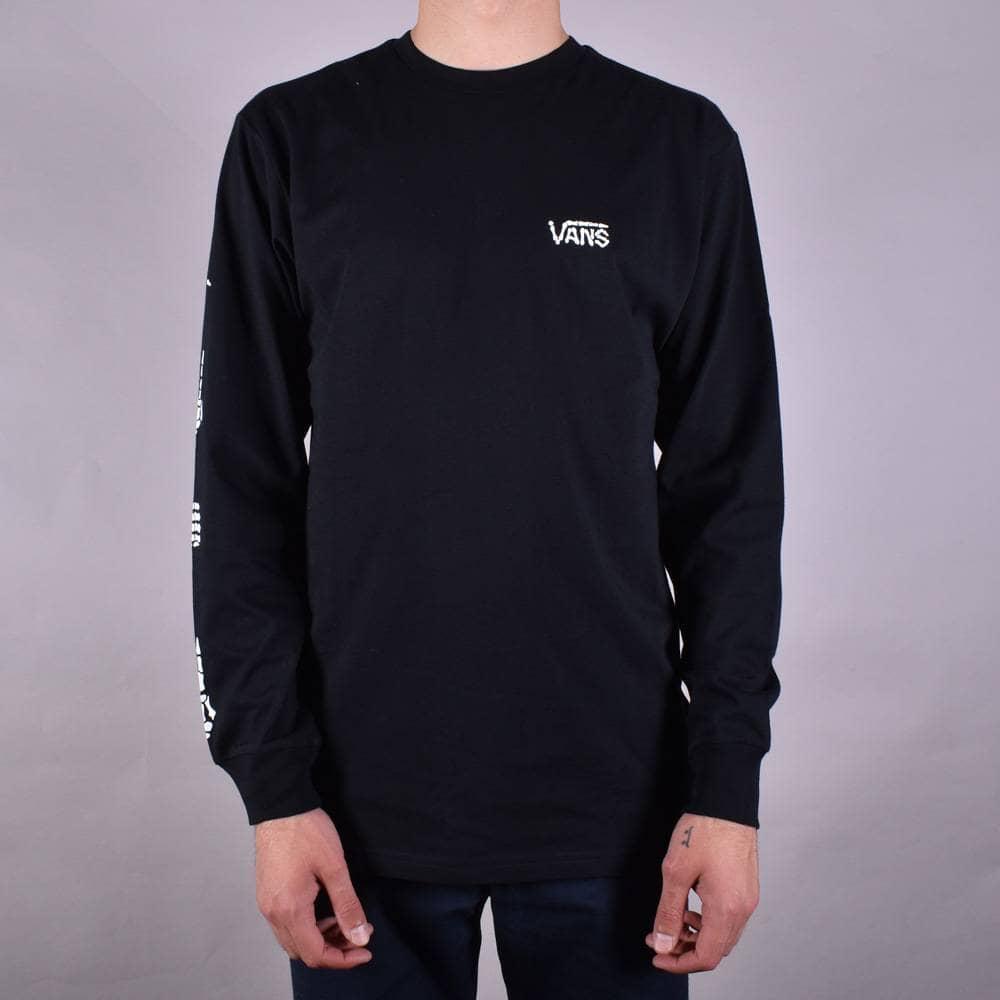 8f0ccad0a4 Vans Boneyard Long Sleeve Skate T-Shrt - Black - SKATE CLOTHING from ...