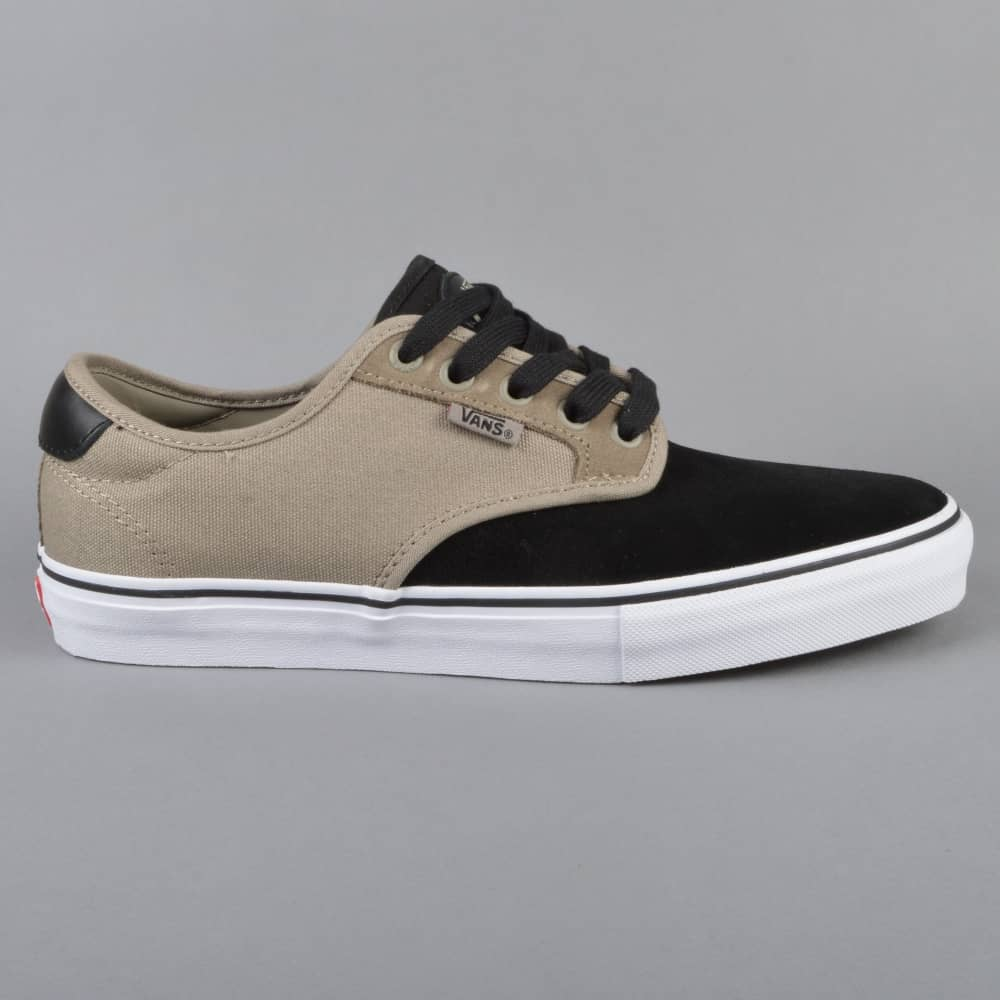 07f334aa33 Vans Chima Ferguson Pro Skate Shoes - Black Fallen Rock - SKATE ...