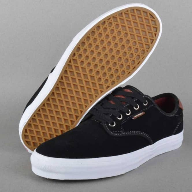 Vans Chima Ferguson Pro Skate Shoes - Black Mahogany - SKATE SHOES ... 210a172ca
