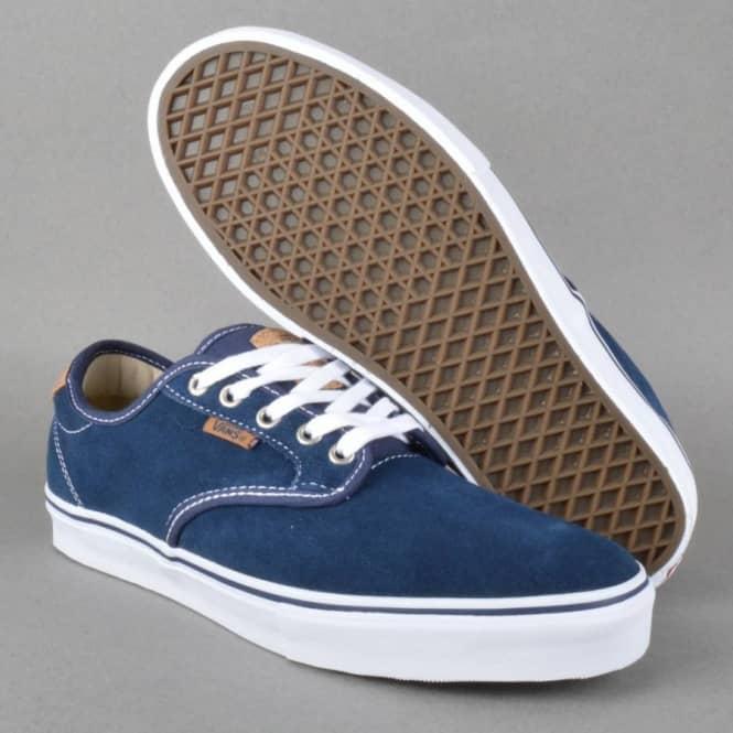 60e9982d99e8 Vans Chima Ferguson Pro Skate Shoes - (Cork) Navy Khaki - SKATE ...