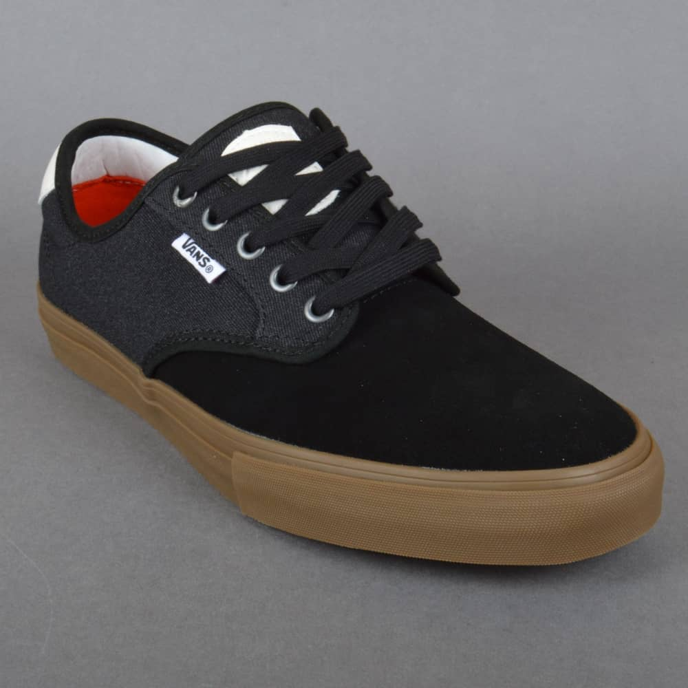 4aecd98849 Vans Chima Ferguson Pro Skate Shoes - (Covert Twill) Black Gum ...