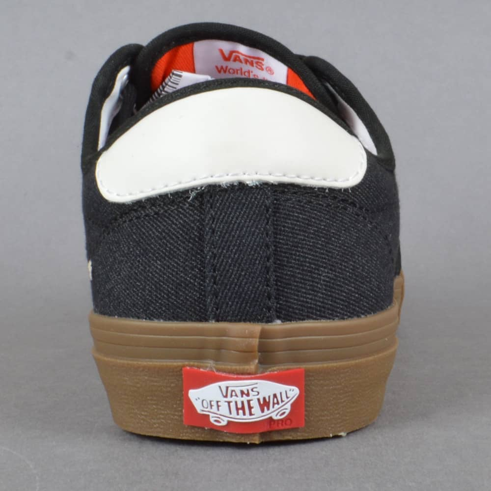edfafcf5636fc5 Vans Chima Ferguson Pro Skate Shoes - (Covert Twill) Black Gum ...