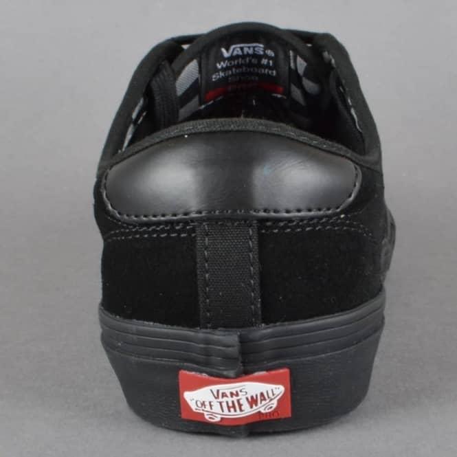 a1d0caf3018f15 Vans Chima Ferguson Pro Skate Shoes - (Mono) Black Black - SKATE ...