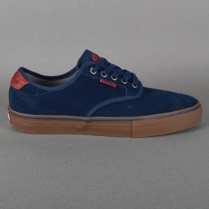 0cec01b9af8ef8 Vans Chima Ferguson Pro Skate Shoes - Navy Gum Suede - SKATE SHOES ...