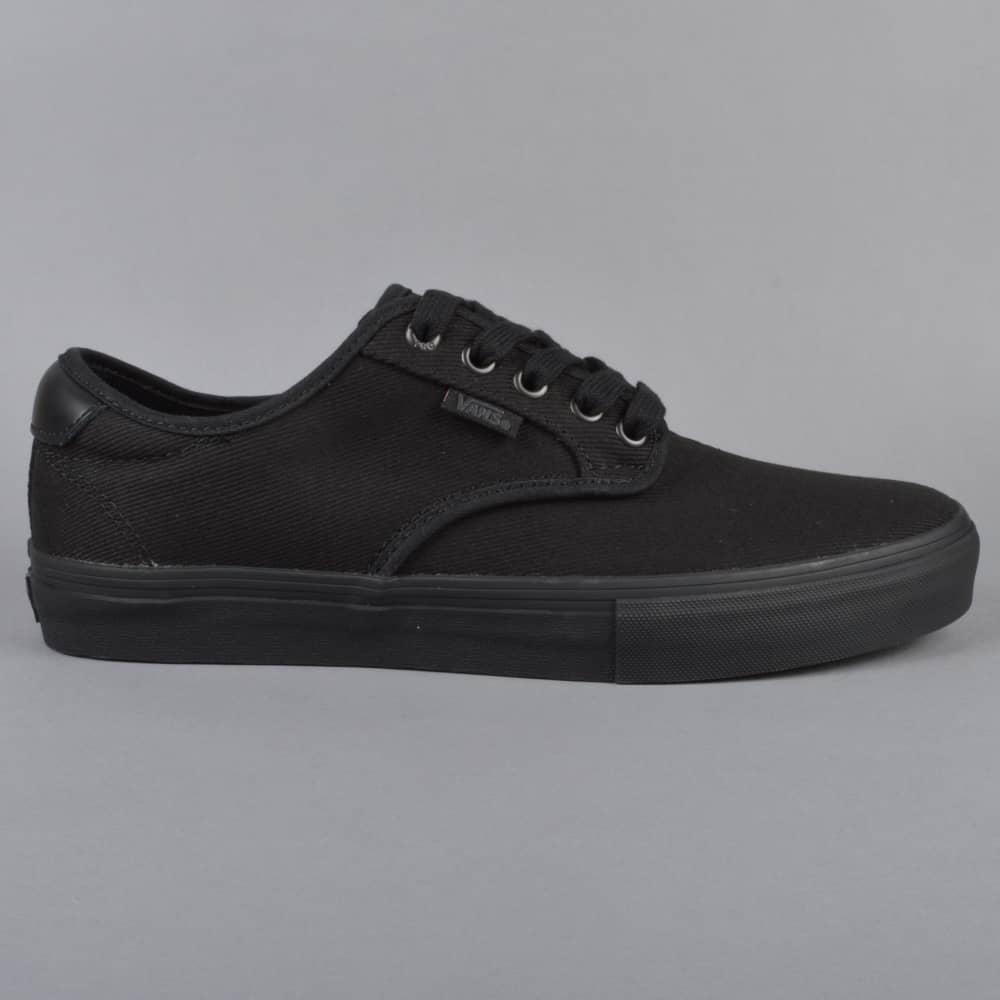 Chima Ferguson Pro Skate Shoes - (Twill) Blackout 19f66c3b8