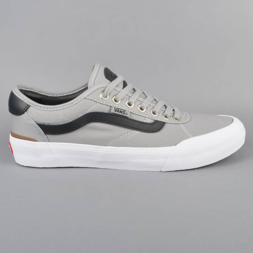 Vans Chima Pro 2 Skate Shoes - Drizzle Black White - SKATE SHOES ... 6aecc0ab1