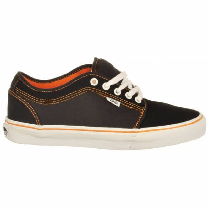 5839b888dd Vans Chukka Low Andrew Allen Black Orange Skate Shoes - Mens Skate ...