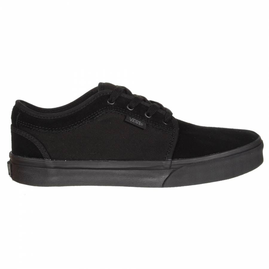 Vans Vans Chukka Low Youth Skate Shoes - Black/Black - Vans from