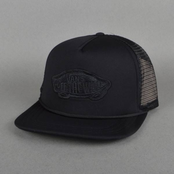 237b8f34f95 Vans Classic Patch Mesh Trucker Cap - Black - SKATE CLOTHING from ...