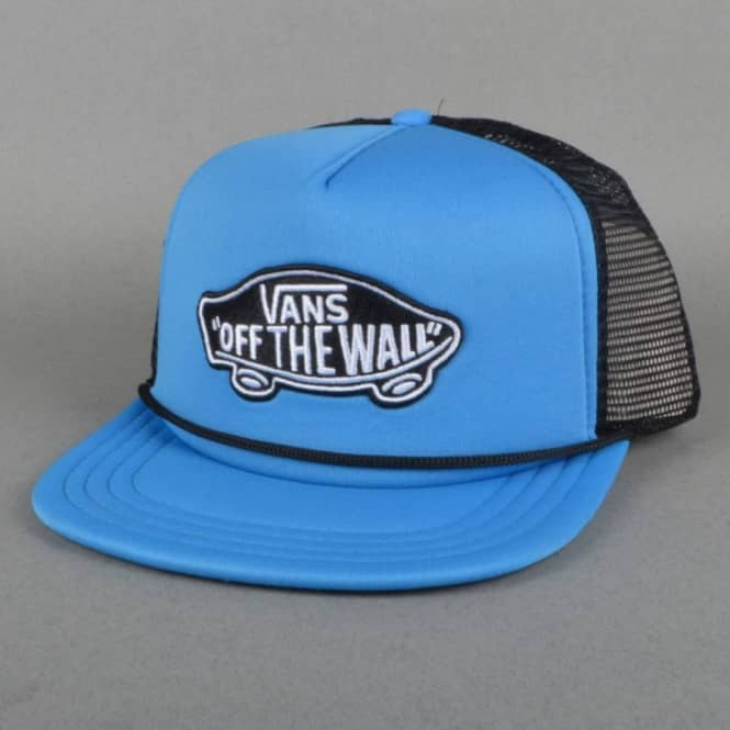 74fd759fb4e Vans Classic Patch Mesh Trucker Cap - French Blue - SKATE CLOTHING ...