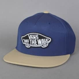 Vans Classic Patch Snapback Cap - Dress Blue/Khaki