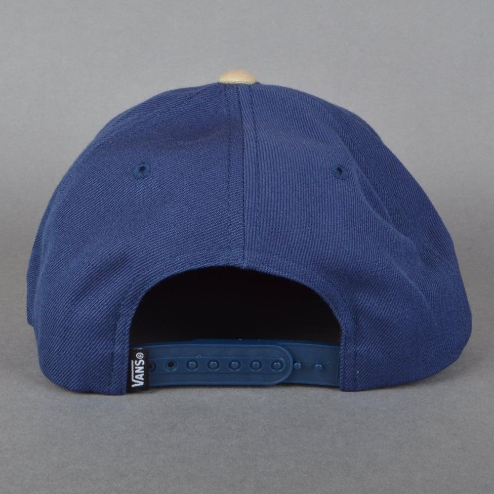 c48ac1da Vans Classic Patch Snapback Cap - Dress Blue/Khaki - SKATE CLOTHING ...
