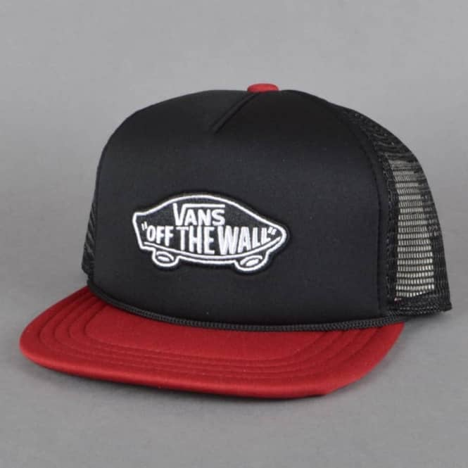 1f1d616d13a Vans Classic Patch Trucker Cap - Black Rhubarb - SKATE CLOTHING from ...