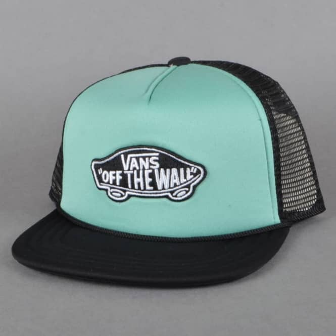 88afc7e887f Vans Classic Patch Trucker Cap - Canton Black - SKATE CLOTHING from ...