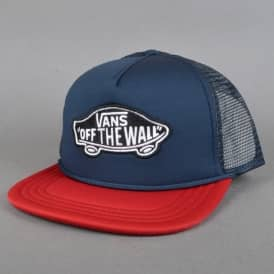 Vans Classic Patch Trucker Cap - Dress Blue/Red