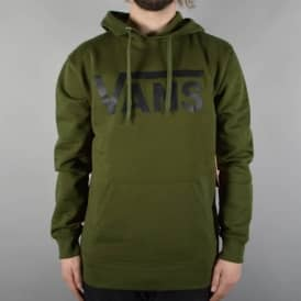 Classic Pullover Hoodie - Rifle Green/Black