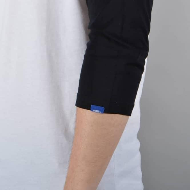 Classic Raglan 34 Sleeve T Shirt WhiteBlack