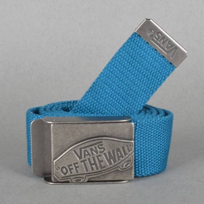 874055e9beed8f Vans Conductor Web Belt - Celestial Blue - SKATE CLOTHING from ...