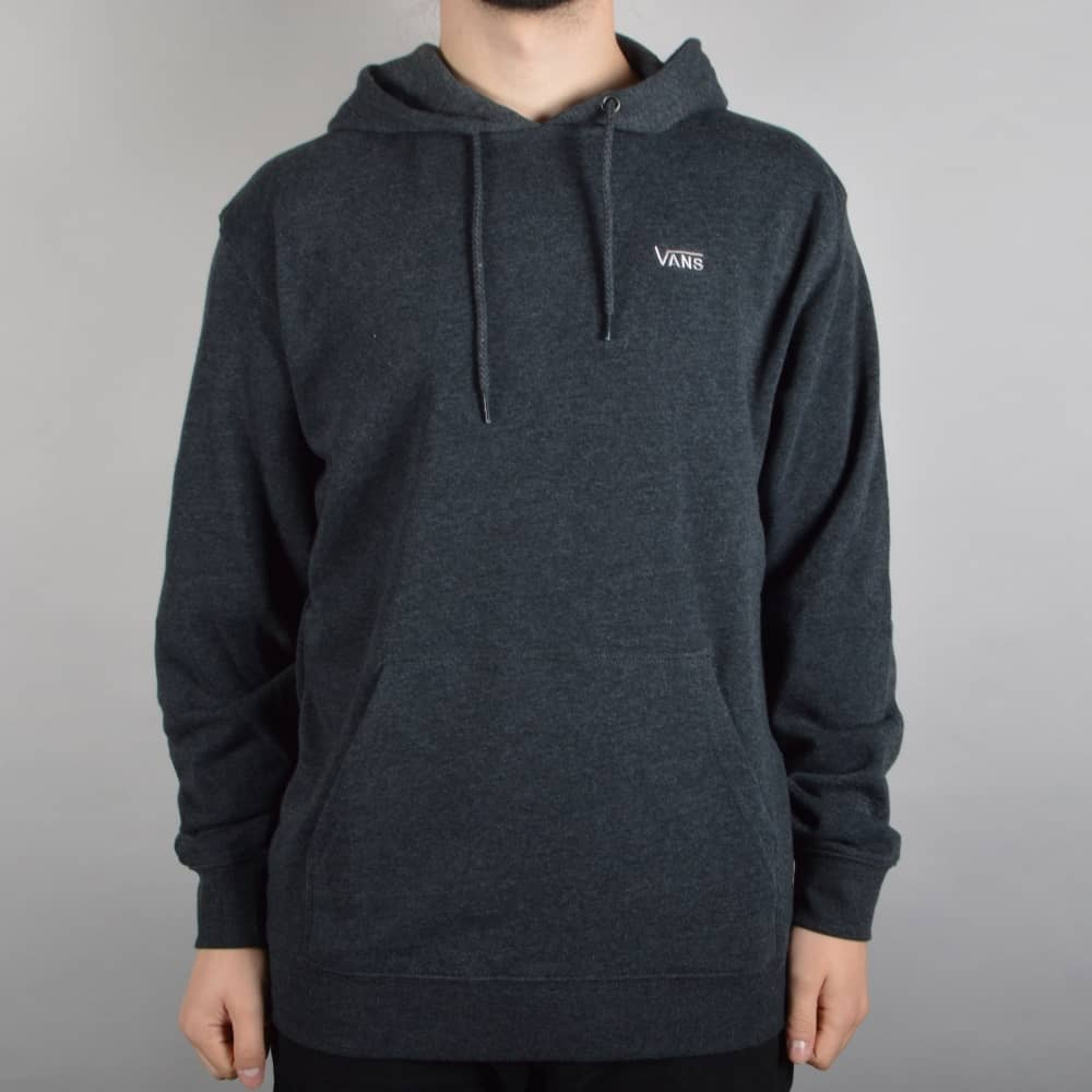 f3cd76fb39 Vans Core Basics Pullover Hood - Black Heather - SKATE CLOTHING from ...