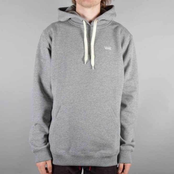 1b7d2981f0 Vans Core Basics Pullover Hoodie - Concrete Heather - Hooded Tops ...